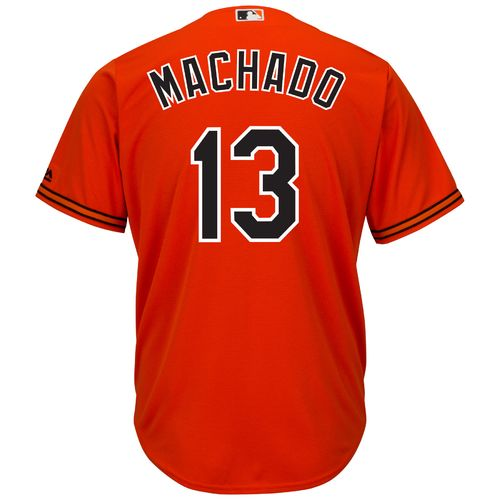 Majestic Men's Baltimore Orioles Manny Machado #13 Cool Base® Replica Jersey