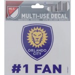 WinCraft Orlando City SC Multiuse Decal