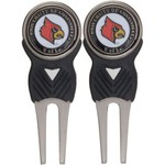 Team Golf University of Louisville Divot Tool and Markers Set