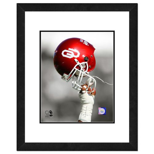 Photo File University of Oklahoma 8' x 10' Helmet Spotlight Photo