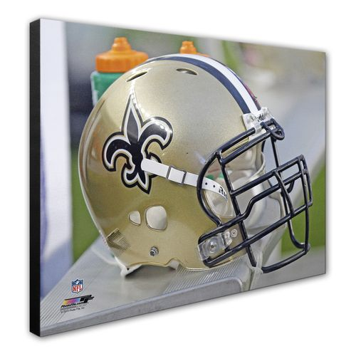 Photo File New Orleans Saints 8' x 10' Helmet Photo