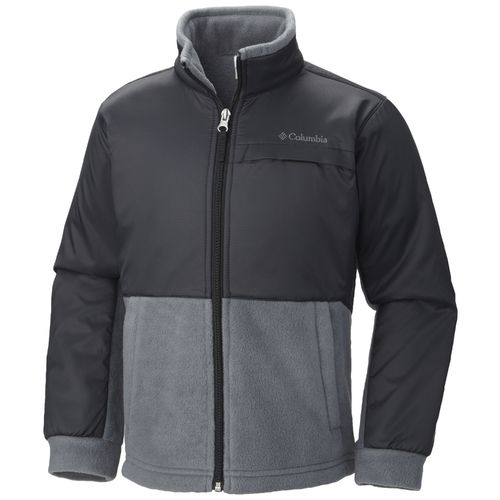 Columbia Sportswear Boys' Steen Mountain™ Overlay Fleece Jacket