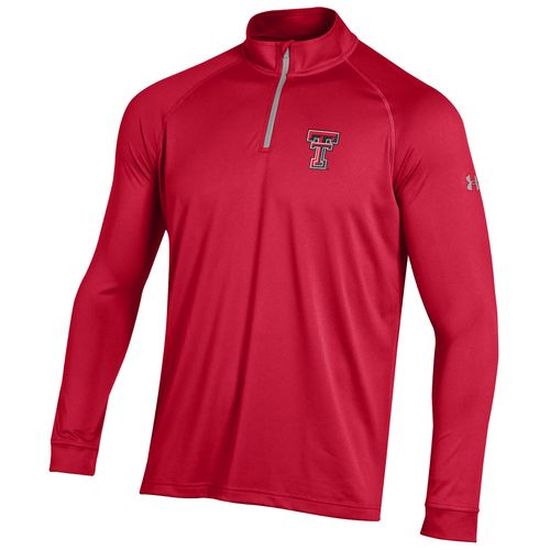 Under Armour™ Men's Texas Tech University Tech 1/4 Zip T-shirt