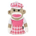 Winning Edge Anna Banana Sock Monkey Golf Club Headcover