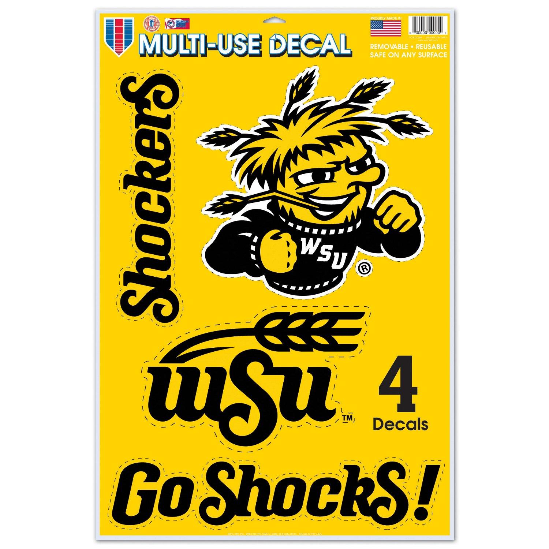 WinCraft Wichita State University Multi-Use Decals 4-Pack