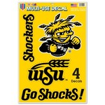 WinCraft Wichita State University Multi-Use Decals 4-Pack