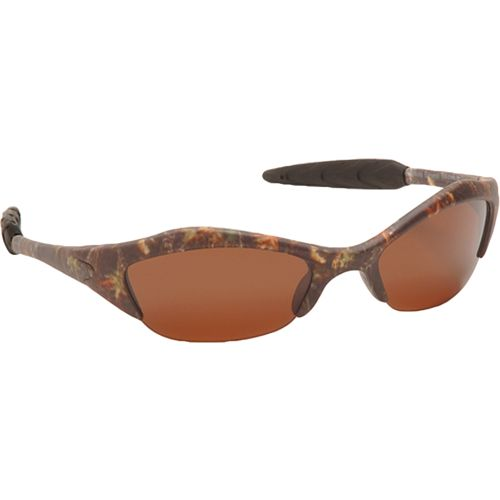 AES Optics Adults' Mossy Oak New Break-Up® Half Sport Polarized Sunglasses