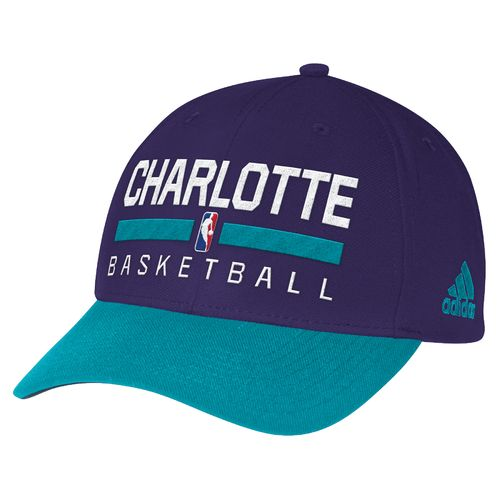 adidas™ Men's Charlotte Hornets Structured Adjustable Practice Cap