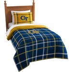 The Northwest Company Georgia Tech Twin Comforter and Sham Set