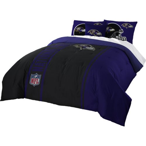 The Northwest Company Baltimore Ravens Full-Size Comforter and Sham Set