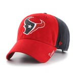'47 Women's Houston Texans Sparkle 2-Tone Clean Up Cap