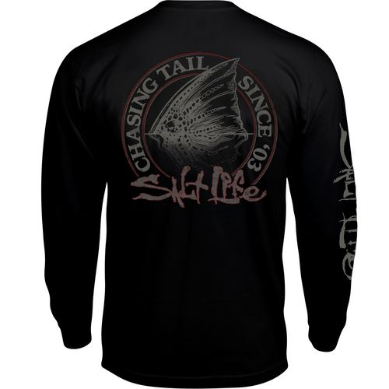 Salt life men 39 s chasing tail long sleeve t shirt academy for Salt life long sleeve fishing shirts