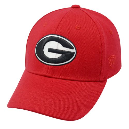 Top of the World Men's University of Georgia Premium Collection Memory Fit™ Cap - view number 1