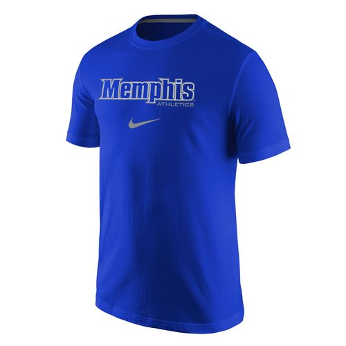 Nike™ Men's University of Memphis Cotton Short Sleeve T-shirt