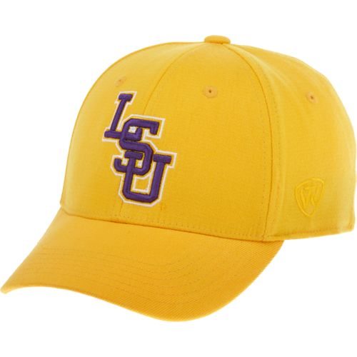 Top of the World Adults' Louisiana State University Premium Collection Memory Fit™ Cap