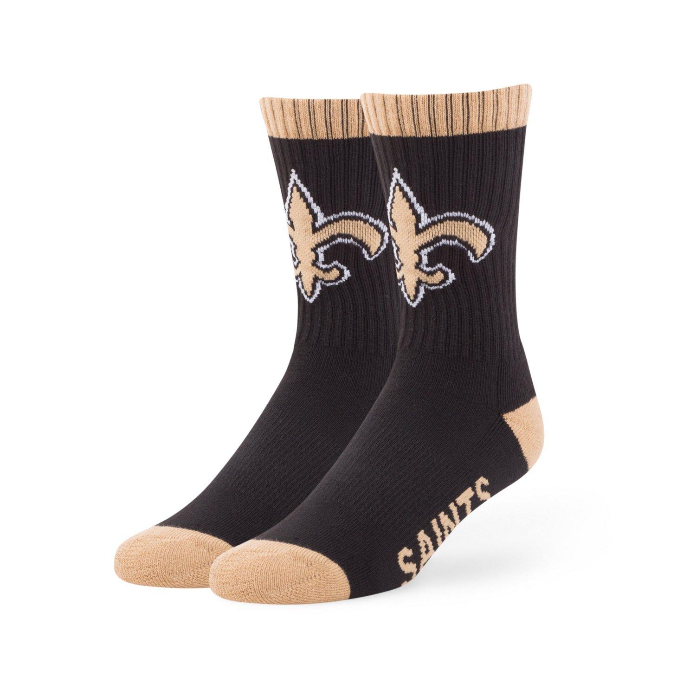 '47 Men's New Orleans Saints Bolt Sport Socks