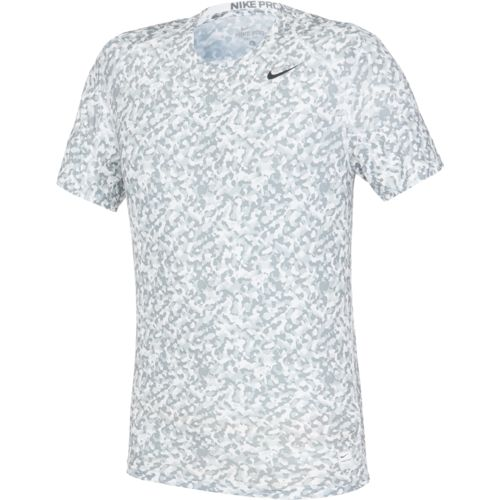 Nike Men's Cool Fitted Wetland Camo Short Sleeve