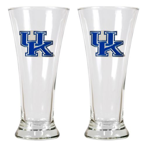 Great American Products University of Kentucky 19 oz. Pilsner Glasses 2-Pack