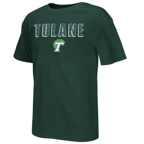 Colosseum Athletics Boys' Tulane University Circuit Board T-shirt