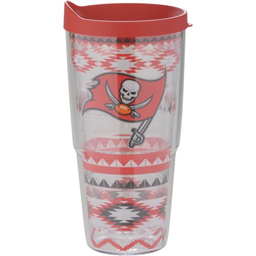 Tervis Tampa Bay Buccaneers Aztec Stripes 24 oz. Tumbler with Lid