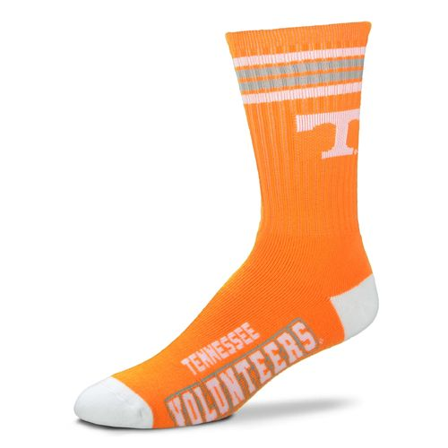 For Bare Feet Adults' University of Tennessee 4-Stripe Deuce Socks