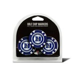 Team Golf Duke University Poker Chip and Golf Ball Marker Set - view number 1