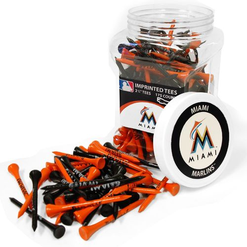 Team Golf Miami Marlins Tees 175-Pack