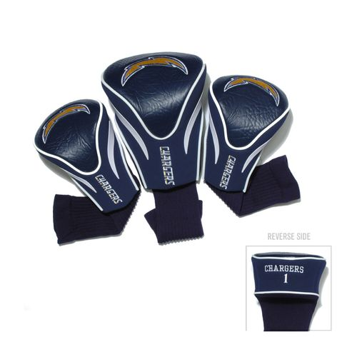 Team Golf San Diego Chargers Contour Sock Head Covers 3-Pack