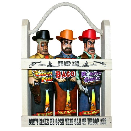 Southwest Specialty Food Whoop Ass Hot Sauce Gift Pack