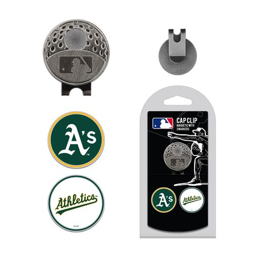 Team Golf Oakland Athletics Marker Cap Clip - view number 1
