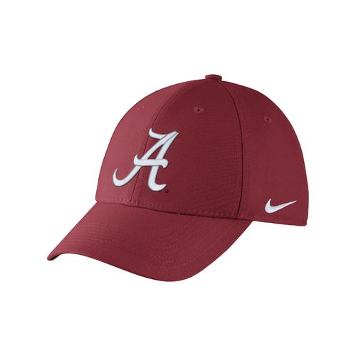 Nike™ Adults' University of Alabama Swoosh Flex Cap - view number 1