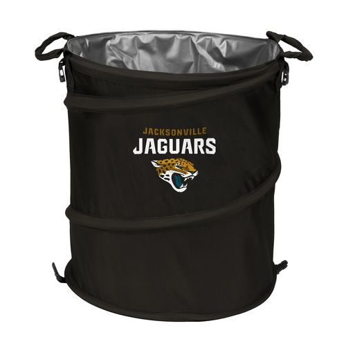 Logo™ Jacksonville Jaguars Collapsible 3-in-1 Cooler/Hamper/Wastebasket