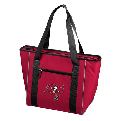 Logo™ Tampa Bay Buccaneers 30-Can Cooler Tote Bag - view number 1