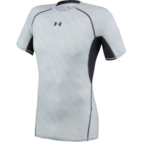 Under Armour Men's HeatGear Armour Compression Printed Short Sleeve T-shirt
