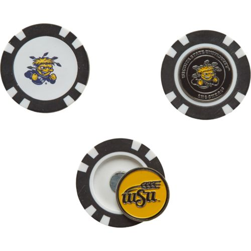 Team Golf Wichita State University Poker Chip and Golf Ball Marker Set - view number 1
