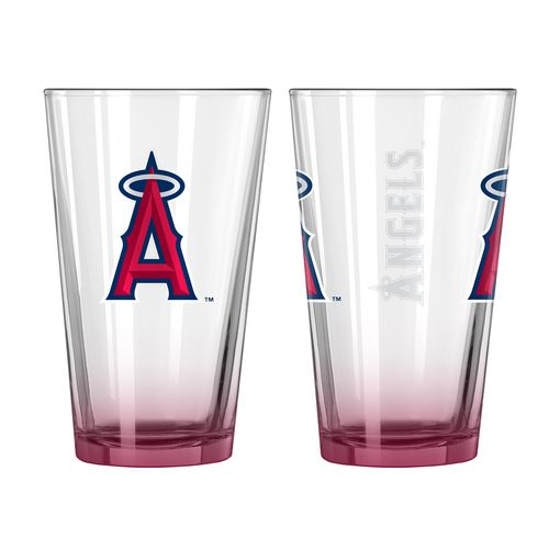 Boelter Brands Los Angeles Angels of Anaheim Elite 16 oz. Pint Glasses 2-Pack - view number 1