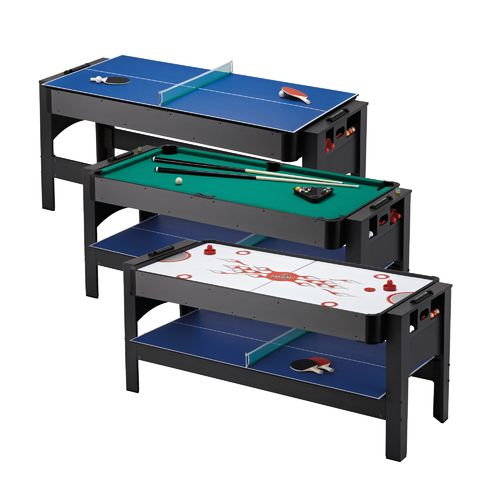 Fat Cat 3-in-1 Flip Air Hockey/Billiards/Table Tennis Game Table - view number 10