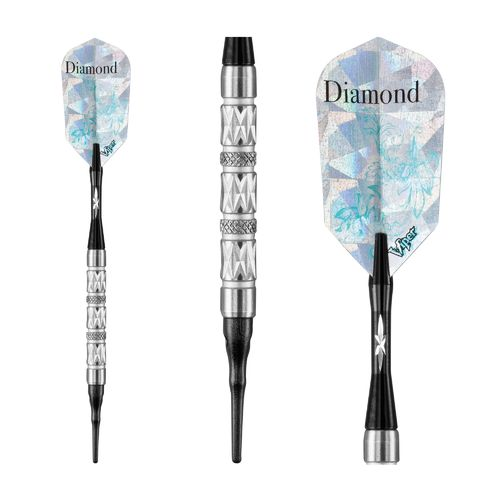 Viper Diamond 16-Gram Soft-Tip Darts 3-Pack - view number 2