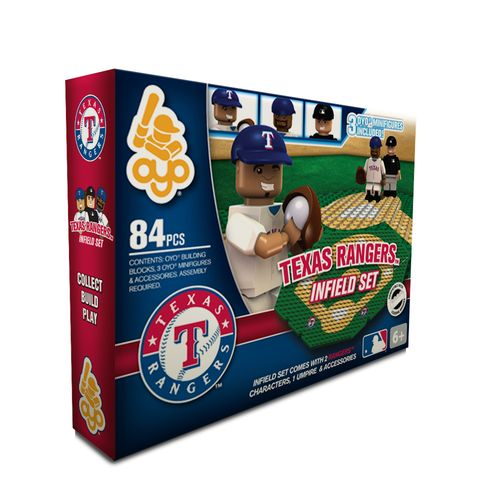 OYO Sports Texas Rangers Infield Set