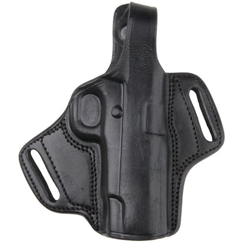 Bulldog Deluxe Auto Molded Leather Hip Holster with Thumb Break