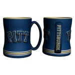 Boelter Brands University of Pittsburgh 14 oz. Relief Mugs 2-Pack