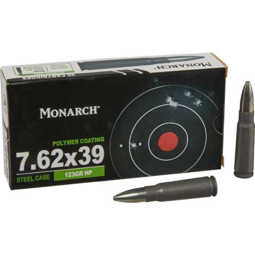Monarch® 7.62 x 39 123-Grain HP Rifle Ammunition