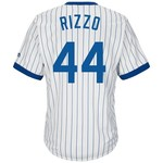 Majestic Men's Chicago Cubs Anthony Rizzo #44 Cooperstown Replica Jersey