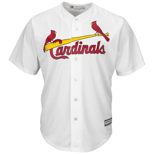 Majestic Men's St. Louis Cardinals Jhonny Peralta #27 Cool Base Replica Jersey - view number 2
