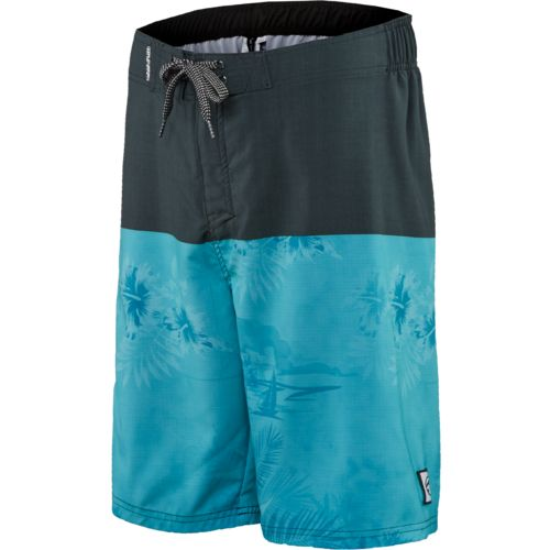 Ocean Current Young Men's Hut Subtle Floral Print Boardshort