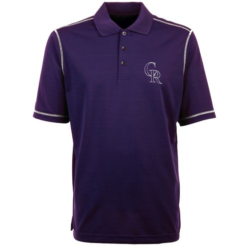 Antigua Men's Colorado Rockies Icon Piqué Polo Shirt