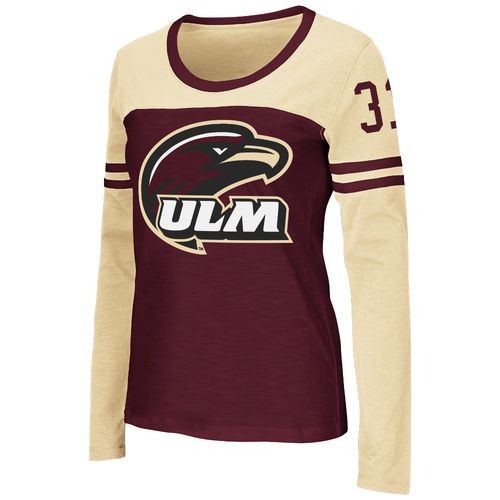 Colosseum Athletics™ Women's University of Louisiana at Monroe Hornet Football Long Sleeve