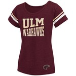 Colosseum Athletics™ Girls' University of Louisiana at Monroe Fading Dot T-shirt - view number 1