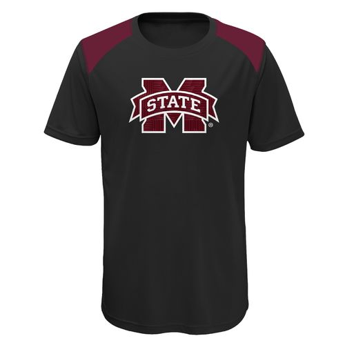 Gen2 Boys' Mississippi State University Ellipse Performance Top