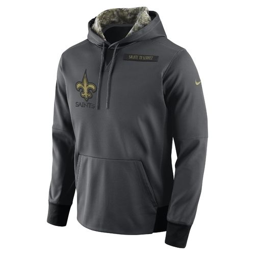 Nike Men's New Orleans Saints Salute To Service Player Fleece Pullover Hoodie